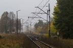 Dalekie - wjazd od strony Wyszkowa -- Nieczynna stacja Dalekie. Wjazd od strony Wyszkowa.