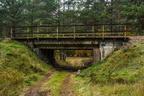 Wiadukt za stacją Dalekie -- Wiadukt za stacją Dalekie, pod którym kursowała wąskotorowa kolejka leśna.