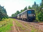 ST43-R012 & R010 -- Towarowy przewoźnika CTL Logistics, prowadzony lokomotywami ST43-R012 i R010 wjeżdża do Ostrołęki.