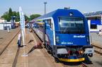 Siemens Railjet -- Wagon sterowniczy pociągu Siemens Railjet zakupionego przez Koleje Czeskie na wystawie taboru z okazji Czech Raildays 2014.