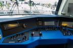 Kabina Railjeta -- Kabina w wagonie sterowniczym składu Siemens Railjet Kolei Czeskich.