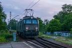 ET22-408 -- Lokomotywa ET22 przewoźnika CTL Logistics luzem kieruje się do Mikołowa.