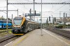480 Leo Express -- Leo Express do stacji Koszyce odjeżdża po zmianie czoła w Przerowie.