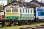 141 023-2 -- Wycofana lokomotywa 141 oczekuje na lepsze czasy przy zakładzie DPOV w Przerowie.