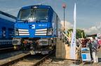 383 001-5 -- Premiera Siemens Vectrona dla Kolei Czeskich Cargo na targach Czech Raildays 2016.