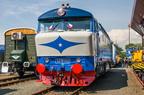 T478.1002 -- Odrestaurowana lokomotywa 751 002-7 (1964r.) z historycznym oznaczeniem T478.1002 na targach Czech Raildays 2016.
