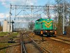 SM42-625 -- Podsył lokomotywy SM42 z Ostrołęki do Warszawy Pragi.