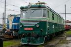 180 001-0 -- Lokomotywa serii 180, prototyp późniejszych serii 181, 2 i 3 na wystawie taboru z okazji Dni Kolei 2017 w Bohuminie.
