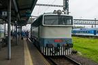 T478.3001 -- Prototypowa lokomotywa spalinowa T478.3001 (753) z 1963r. w peronach stacji Bohumin. (Den železnice 2017)