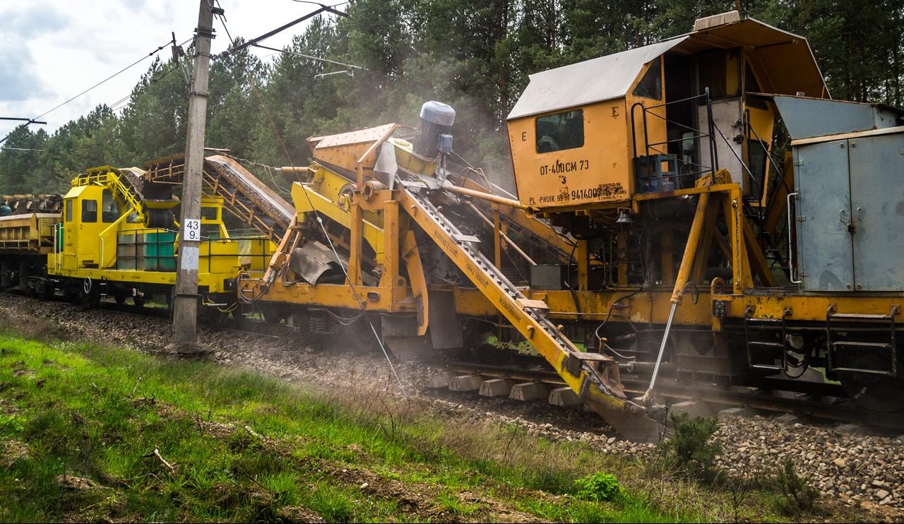 Fotorelacja z remontu szlaku Przetycz – Pasieki