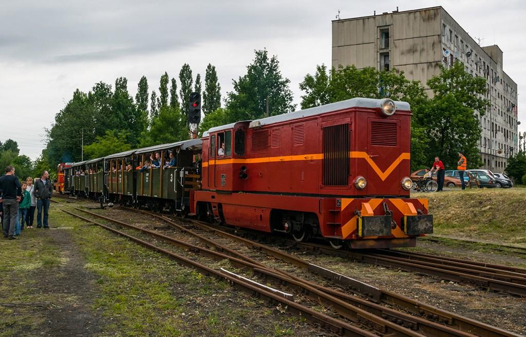 Wycieczka na GKW i tydzień z koleją na śląsku