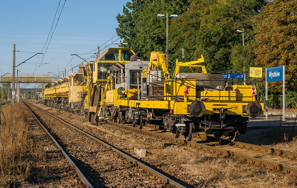 Rewitalizacja kolei w Wyszkowie