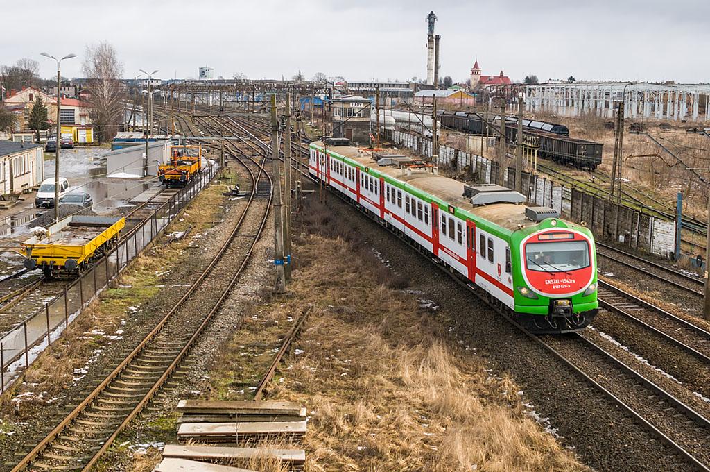 Stacja Łapy. Śladem linii do Ostrołęki