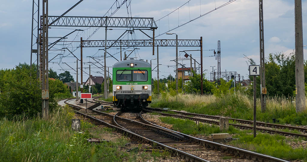 Prace torowe także w Ostrołęce