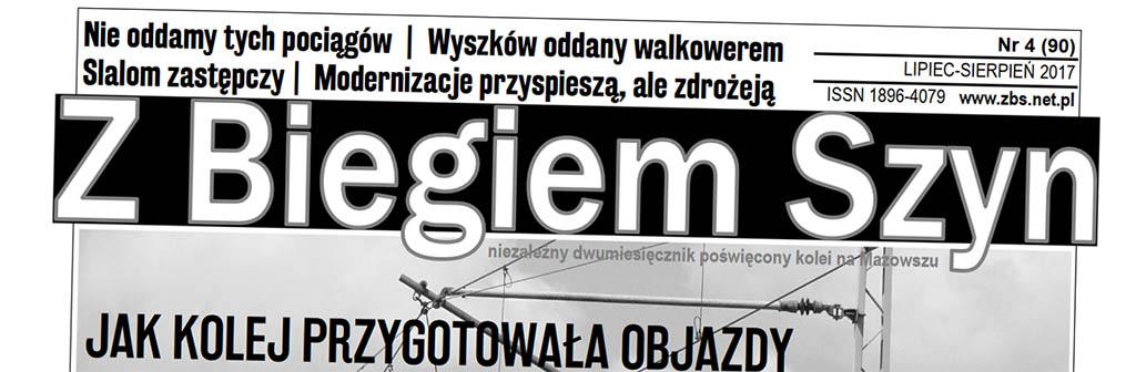 """Wyszków w najnowszym """"Z Biegiem Szyn"""""""