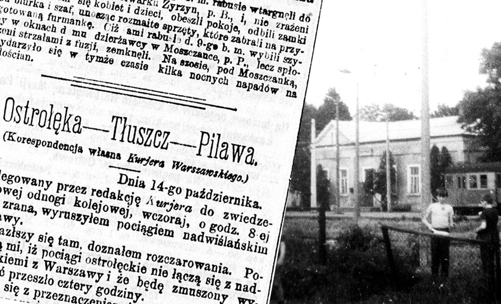 120 lat linii kolejowej nr 29 Tłuszcz – Ostrołęka