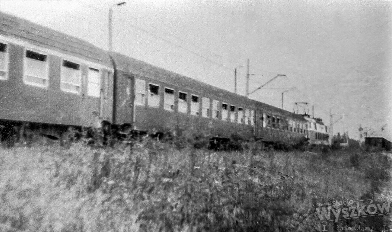 Pociąg Poznań – Ostrołęka na fotografii